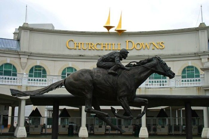 1. Churchill Downs in Louisville Kentucky is the place to be the first weekend in May for the yearly running of the renowned Kentucky Derby.