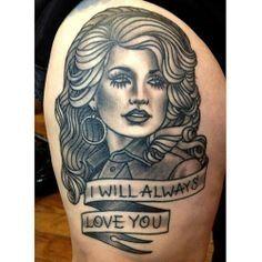 10 - Dolly Parton Tattoos