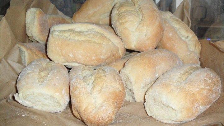 Este es el tipo de pan francés al que soliamos llamarle, pan corriente.