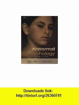 Abnormal Psychology- Text Only (9780006107002) David H. Barlow, V. Mark Durand , ISBN-10: 0006107001  , ISBN-13: 978-0006107002 ,  , tutorials , pdf , ebook , torrent , downloads , rapidshare , filesonic , hotfile , megaupload , fileserve