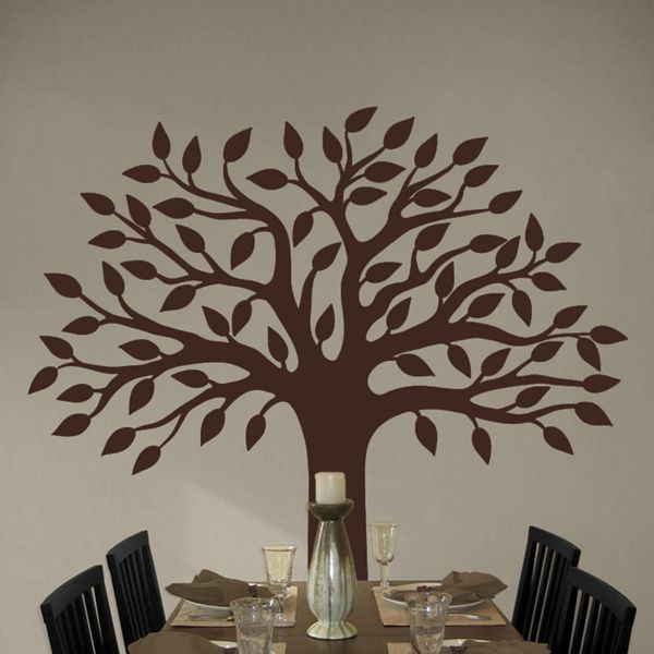 Perfect Pretty Tree Wall Decal Sticker Graphic Part 87