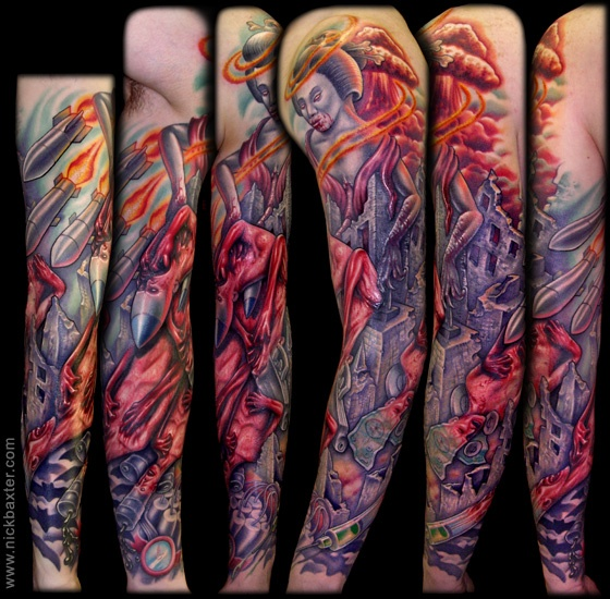 105 Best Images About Tattoos By Nick Baxter On Pinterest