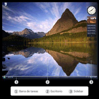Qué es el Escritorio de Windows: Partes del Escritorio de Windows