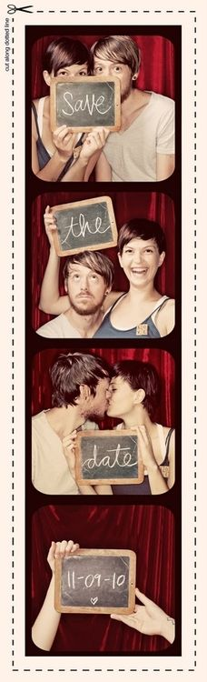 This is a cute save the date :)