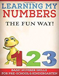 LEARNING MY NUMBERS THE FUN WAY!: BASIC NUMBER SKILLS  FOR PRESCHOOL & KINDERGARTEN (MY LEARNING SERIES)