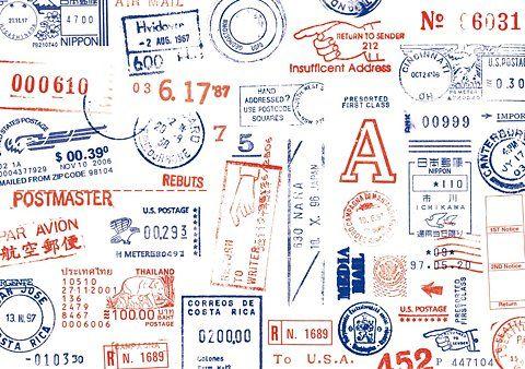 postal guidelines for printing on envelopes