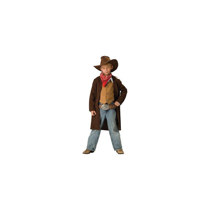 Halloween Boys' Cowboy Costume Large (10-12), Variation Parent