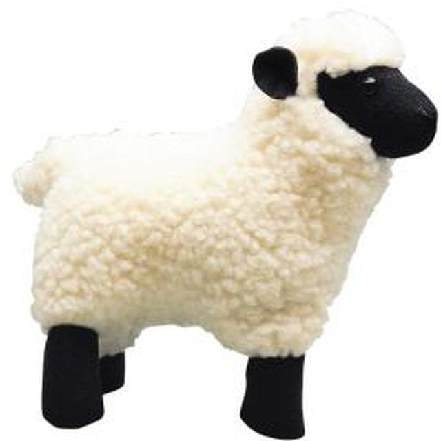 Capture all the cuddly cuteness of sheep using a pattern for your stuffed animal.
