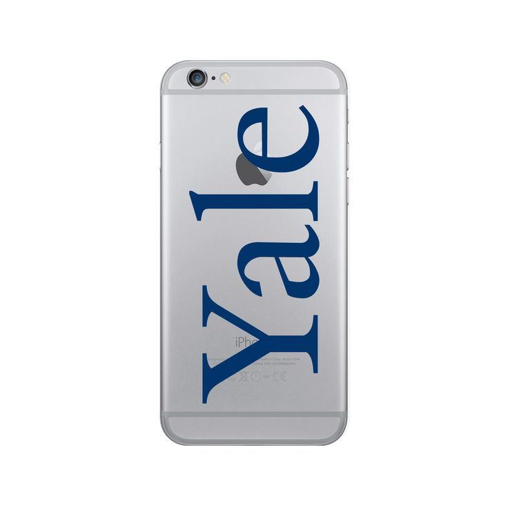 Yale University Clear Phone Case, Classic V1 - iPhone 7/7S