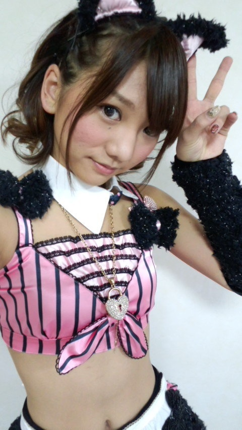 Akicha with cat ears #AKB48