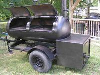 This is the building process that friends and I used to build a 250 gallon reverse flow smoker and put it on a trailer. My friends, Charlie ...