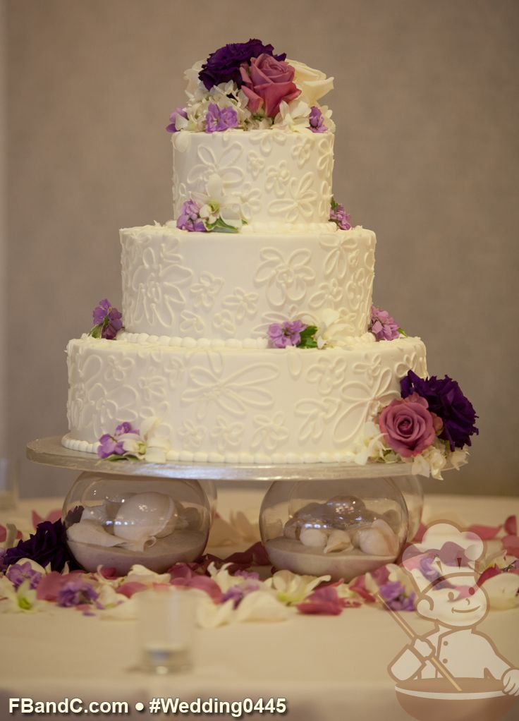 flowers in wedding cake design w 0445 butter wedding cake 14 quot 10 quot 6 14345