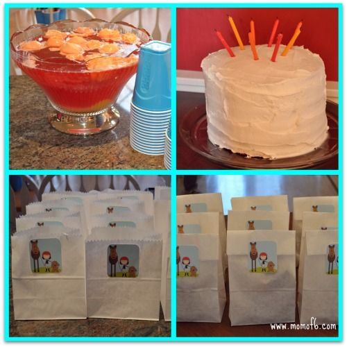 One mom's ideas for a low key 8th Birthday Party - Like her idea of pasta and salad bar  Could make decor and stuffs more suitable for a 13 year old!