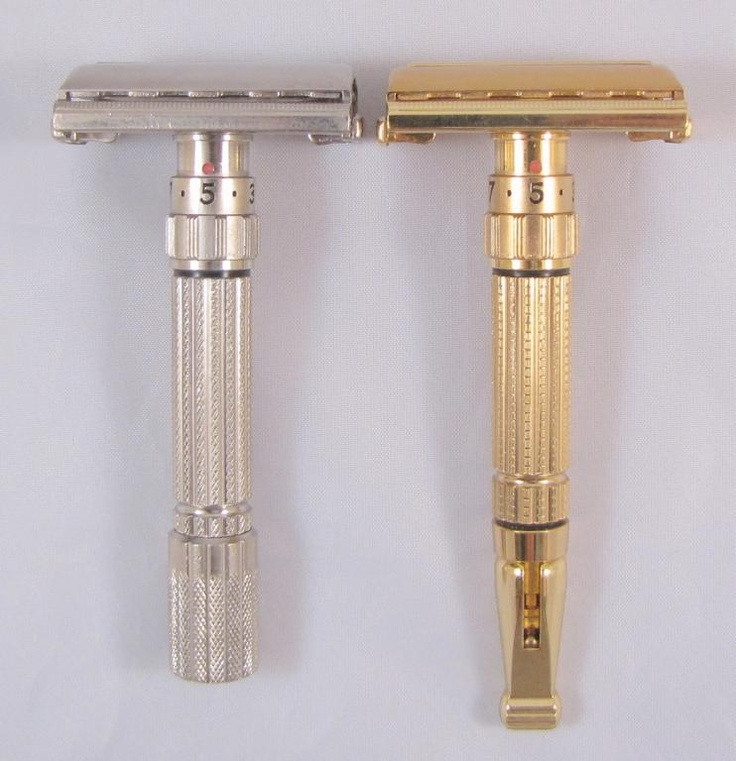Vintage Adjustable Gillette Safety Razors
