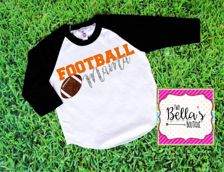 Football Mom Shirt- Football Mom- Football shirt- Football Mama shirt- Football…