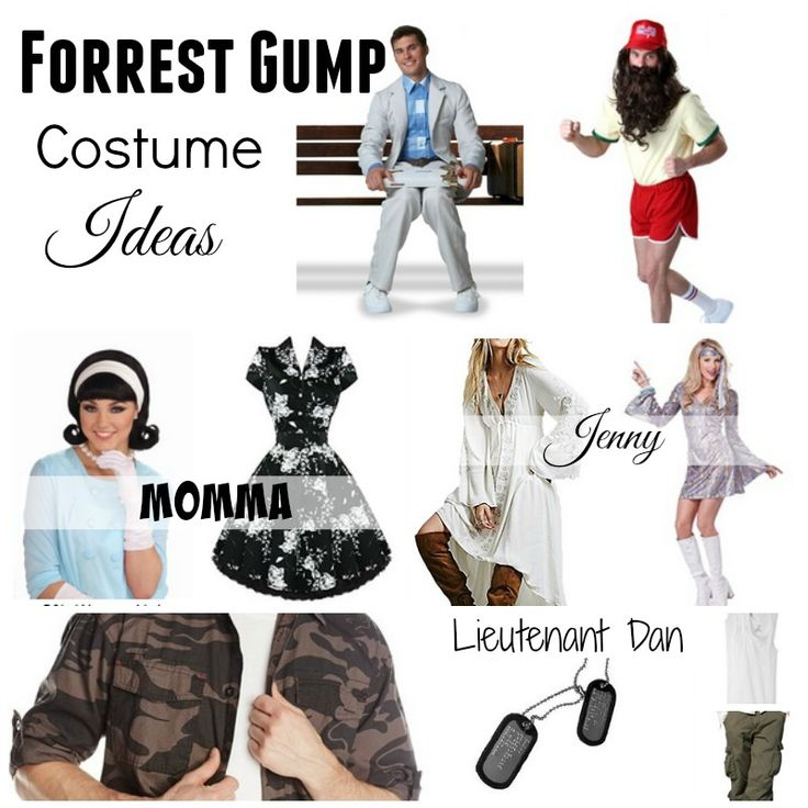 Looking for a Forrest Gump Halloween Costume?  Here are some killer #ForrestGump #CostumeIdeas for those going solo or in couples and groups!  #BestMoviesCostumes