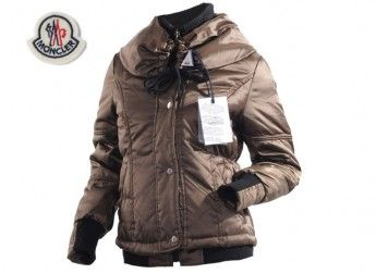 2013 New! Moncler Featured Jacket Down For Womens Chocolate