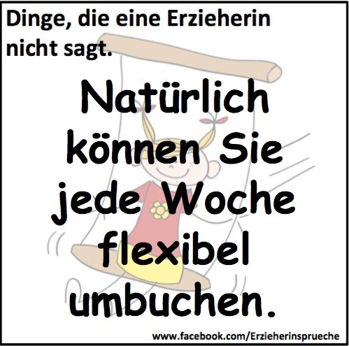 Erzieherin - flexibel sein