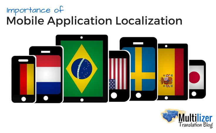 Importance of Mobile Application Localization  |  Multilizer Translation Blog
