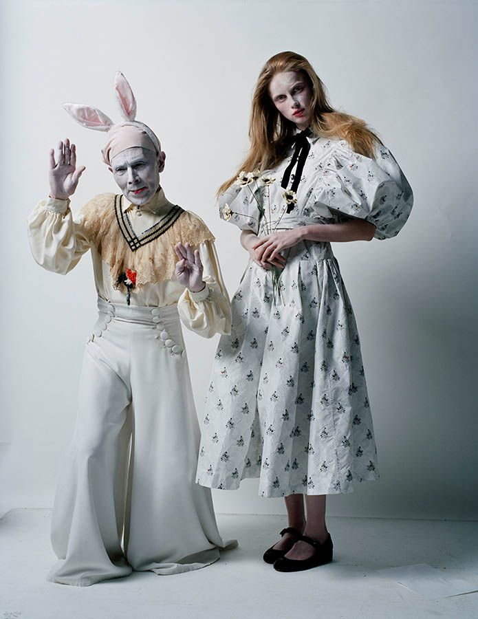BRITISH VOGUE - AN ARTIST OF THE FLOATING WORLD - Photography: Tim Walker | Styling: Kate Phelan | Hair: Shon | Make-up: Sam Bryant | Model: Rianne Van Rompaey | Printed by Touch