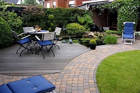 Tuin aanleggen: mooiste tuin van Vlaanderen - kleine tuin derde prijs - aanleggen tuin door tuinaannemer - hovenier
