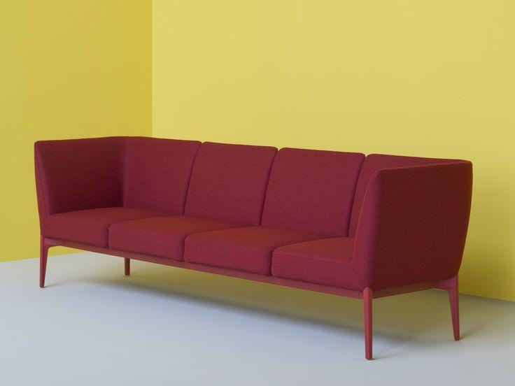Modular sofa SOCIAL by PEDRALI design Patrick Jouin