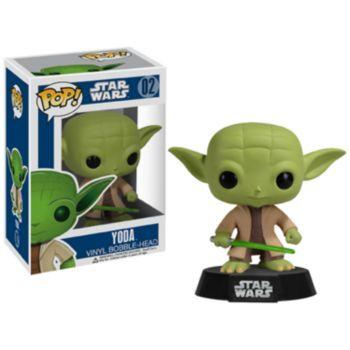 Funko Pop! Star Wars Yoda Vinyl Bobble-Head