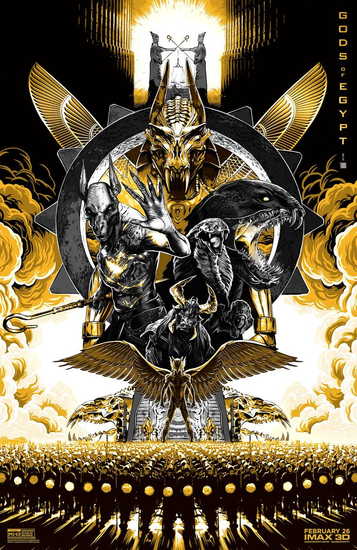 GODS OF EGYPT movie poster No.11 (IMAX)