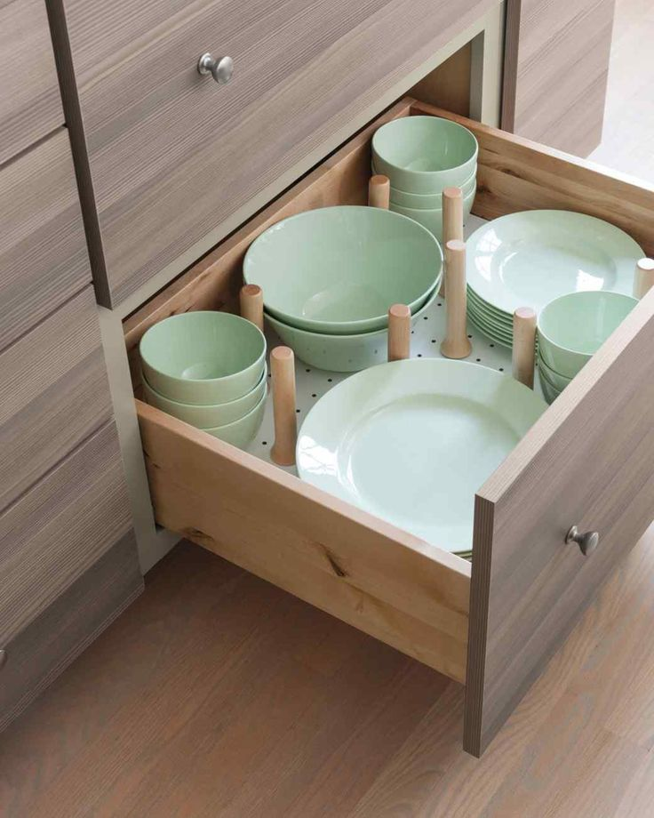 So a kitchen remodel isn't in the cards. No problem. If you can't have the drawers you want, you have to love the drawers you've got. Give them an inner makeover with shiny new organizers (or crafty, repurposed ones).