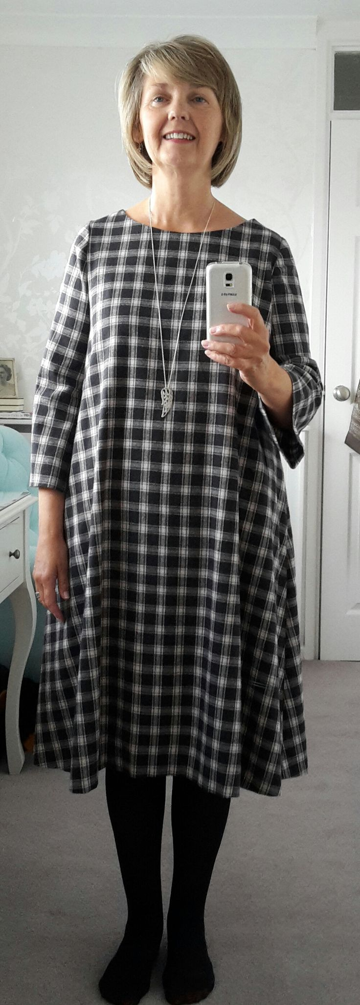 Share with:My first attempt at dressmaking after many years and very happy to say the experience was almost pure joy. No major disasters, which is a good thing for me as I am easily disheartened (must work on that), and thrilled with the finished dress. The dress had it's first outing today and nothing fell …