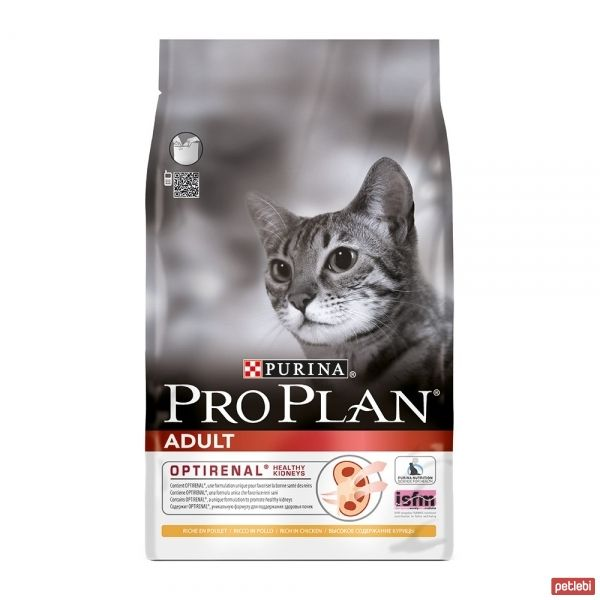 Pro Plan Adult Tavuklu ve Pirinçli Yetişkin Kedi Maması 10 Kg