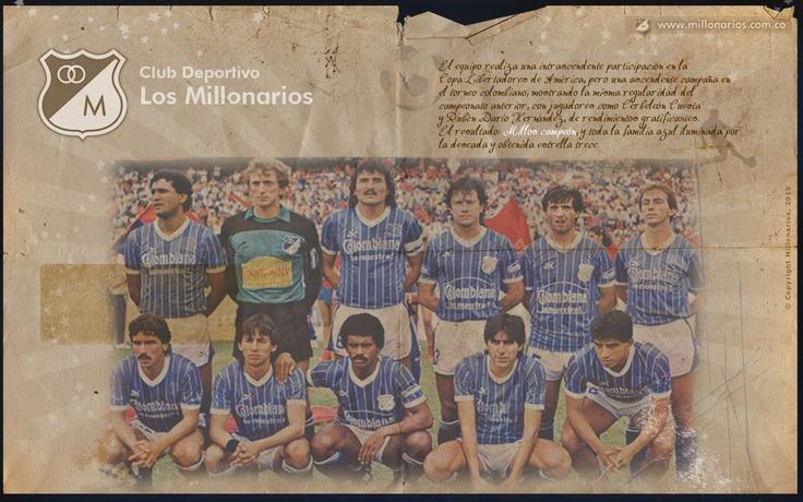 Millonarios Campeón... 1988