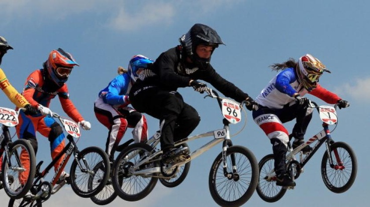 Fighting silver for Walker in BMX   olympic.org.nz