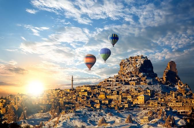 2 Day Cappadocia Tour from Istanbul 2-day Cappadocia Turkey tour by plane for both Northern and Southern parts of Cappadocia, with an optional choice of Hot Air Balloon, as well as with English and Spanish speaking guides, lunch, transportation and all entrance fees. A 2-day Cappadocia Turkey tour for both Northern and Southern parts of Cappadocia with an optional choice of Hot Air Balloon, as well as with English or Spanish speaking guides, lunch, transportation...