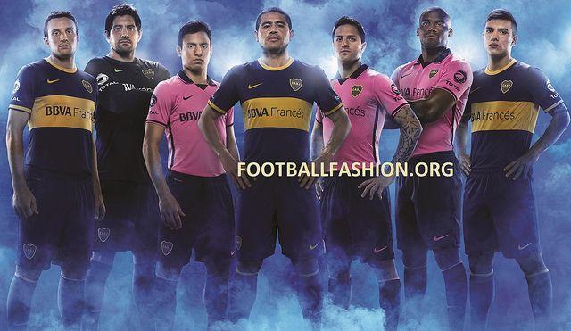 Boca Juniors 2013/14 Nike Home and Away Jerseys