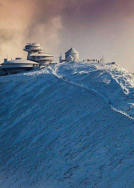 Sniezka Peak Poland