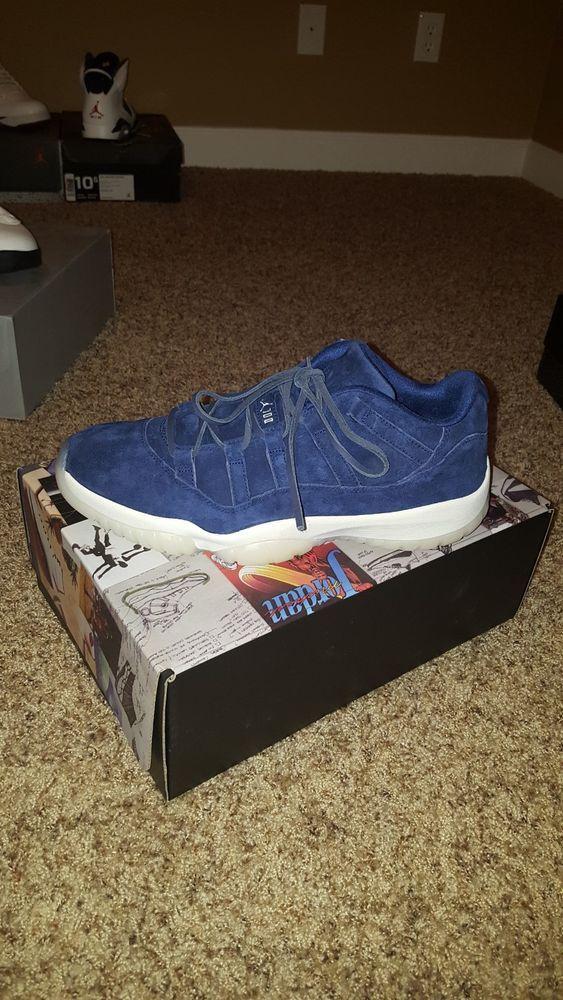 0507b69727f63e Nike Air Jordan 11 Retro Low Derek Jeter DS 11 AV2187 441 NY Yankees  RE2PECT  fashion  clothing  shoes  accessories  mensshoes  athleticshoes  (ebay link)
