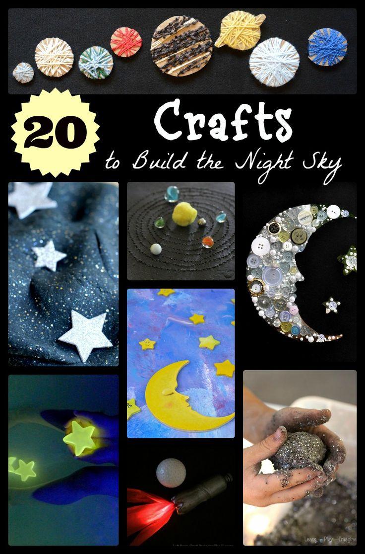 Artesanía 20 Space-temáticas con Niños | Aventura en una caja