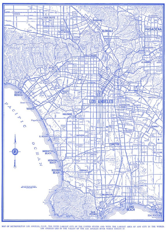 Best MAPS Images On Pinterest Los Angeles Cartography And - Us map blueprint