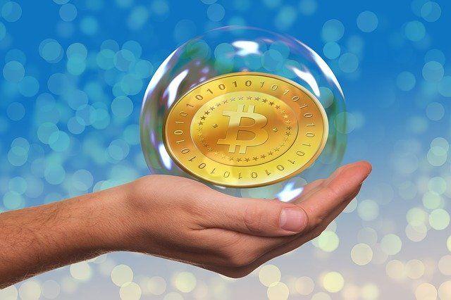 Photo By geralt   Pixabay #soapbubble #bitcoin #hand #bitcoinprice #bitcoinbillionaire #bitcoinexchange #bitcointrading #bitcoinminer
