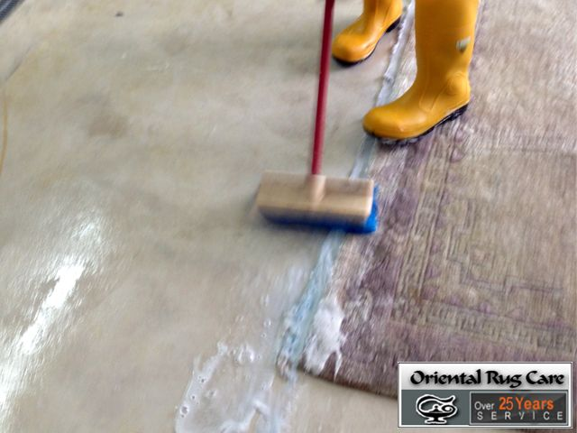 Removed Professional Rug Cleaning Service
