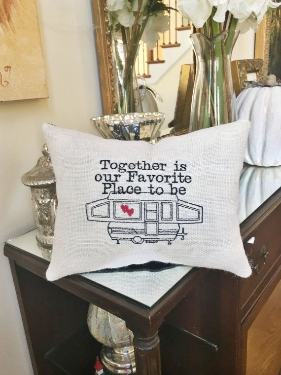 Pop Up Camper RV Decor Together is Our by MakingSomethingHappy