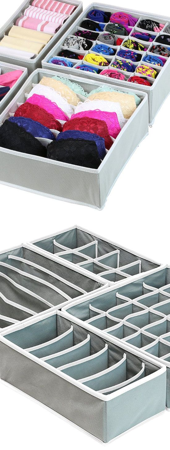 Closet Underwear Organizer Drawer | Easy Closet Organization Ideas for the Home