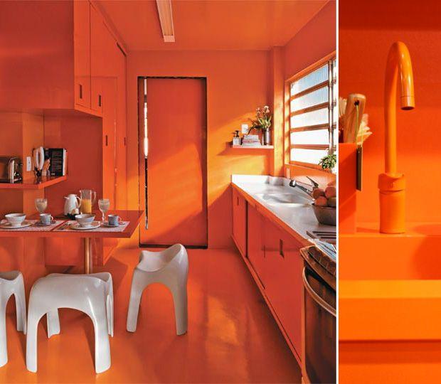 Orange Kitchen Accents: 17 Best Ideas About Orange Kitchen Decor On Pinterest
