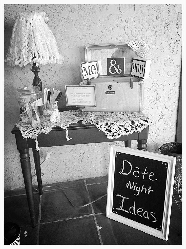 Date Night Ideas Jar for the Bride & Groom