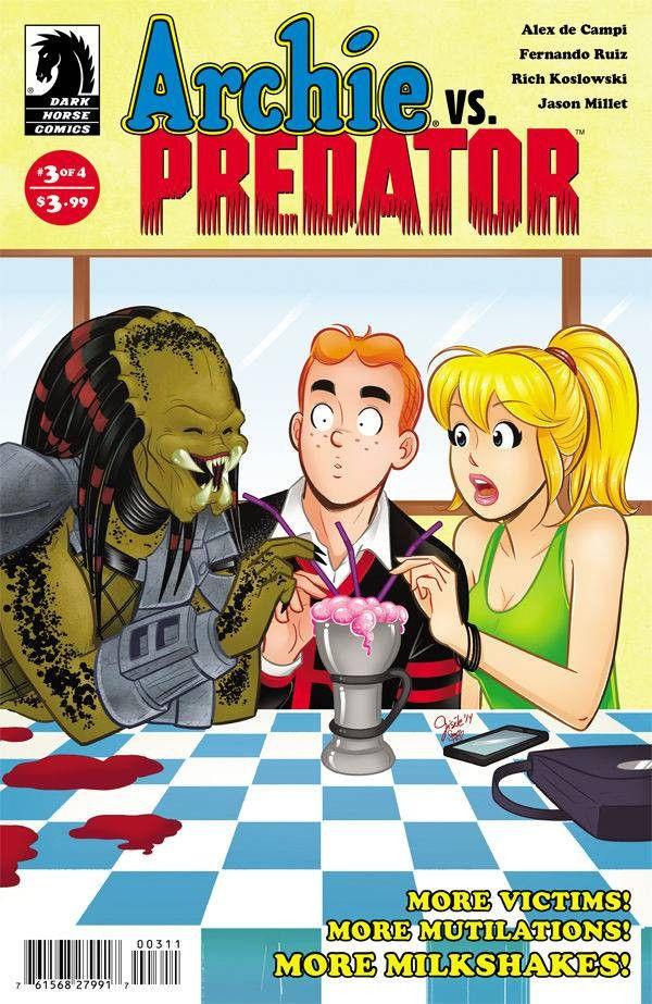 Archie Vs Predator (2015) Issue #3