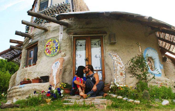 casa de super adobe leo torcello #adobe #casas #arquitectura #construcción #casaecologica