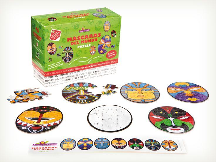 Coleccion Juegos del Mundo de Juegos del Caracol, distinguidos con el Sello de Buen Diseño 2013.