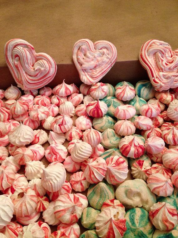 Meringue Kisses on Etsy, $3.00 a dozen