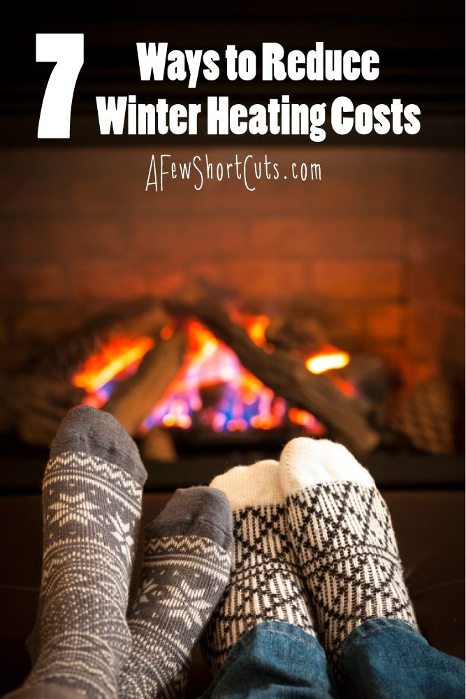 7 Ways to Reduce Winter Heating Costs. Money Saving ...